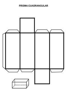 PRISMA CUADRANGULAR Teaching Geometry, Teaching Math, Prisma Pentagonal, 3d Geometric Shapes, 3d Shapes, Emotions Preschool, Welding Art, Arc Welding, Metal Welding