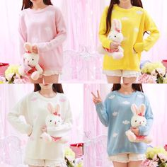 2c09c83ee5a35 Sweet clouds sweater pullover