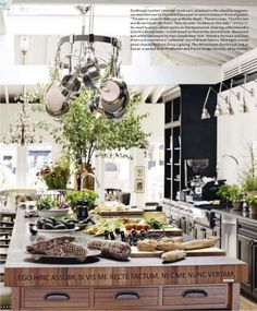 Tyler Florence??s kitchen of the year in House Beautiful.