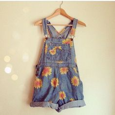 Sunflower overalls!!!