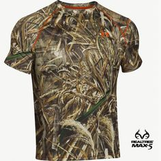 Under Armour Scent-control Shirt in Realtree Max 5 Camo  #RealtreeMax5 #Realtreegear