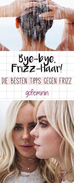 Was tun bei krisseligem Haar und aktuem Frizz-Alarm? Hier kommen die besten Tipps und Produkte für geschmeidiges Haar!