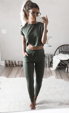 Lounging sporty outfit love those shape