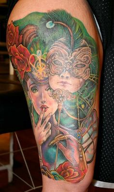 Tattoo completed by Sarah Miller
