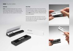 OCB: Rolling business cards
