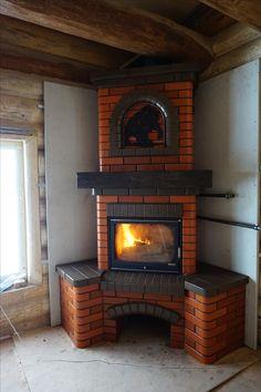 Diy Home Decor Easy, Elegant Home Decor, Elegant Homes, Diy Home Decor Bedroom, Outdoor Kitchen Plans, Outdoor Stove, Model House Plan, Tiny House Plans, Home Fireplace