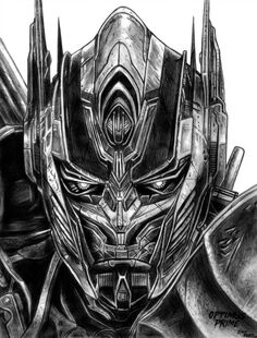 Optimus Prime (Transformers) by on DeviantArt Transformers 5, Transformers Drawing, Transformer Tattoo, Arte Alien, Totenkopf Tattoos, Marvel Drawings, Gundam Art, Science Fiction, Pulp Fiction