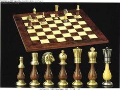 Resultado de imagen para ajedrez de madera