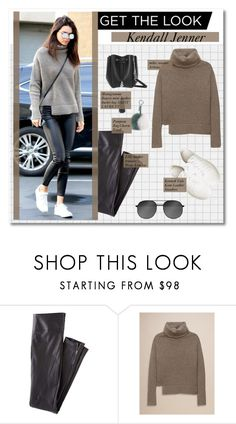 """get the look :: kendall jenner"" by pastelmalfoy ❤ liked on Polyvore featuring Wrap, Yves Saint Laurent, Kenneth Cole, Fendi and topset"