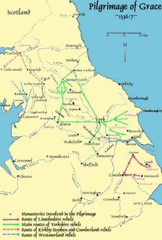 Pilgrimage of Grace History Articles, Uk History, European History, Tudor Era, Tudor Style, Pilgrimage Of Grace, Catholic Orders, Dissolution Of The Monasteries, Tudor Monarchs