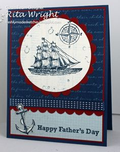 FMS: Sea of Blue by kyann22 - Cards and Paper Crafts at Splitcoaststampers