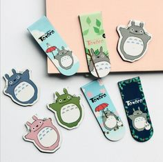 My Neighbor Totoro Paper Clip (2 pcs/pack) //Price: $8.99 & FREE Shipping //   #lovehippiecat #paper #scrapbooking #craft #papercrafts