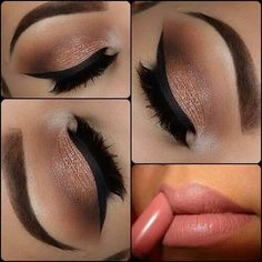 Perfect wedding day makeup... can be for the bride, mother of the bride or maids!