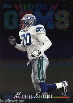 RARE 1998 TOPPS HIDDEN GEMS MICHAEL SINCLAIR SEATTLE SEAHAWKS MINT Seattle  Seahawks ac7154234