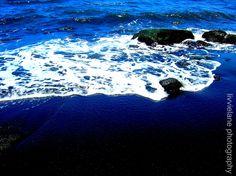 Black Sand Beach - 16 x 20 fine art color photograph - $80.00, via Etsy. - so beautiful and calm!