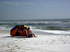 Away from the crowds at Fort Walton Beach