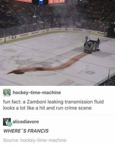 """Your about to be killed.By a zamboni! X,',',D"""" fucking love Deadpool! You are in the right place about Nerd Humor science Here we offer you the most beautiful pictures abo Marvel Dc, Marvel Funny, Marvel Memes, Deadpool Funny, Deadpool Movie, Memes Humor, Dc Memes, Funny Memes, Funny Videos"""