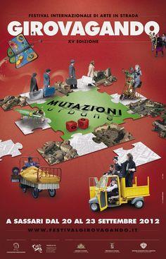 #Girovagando, a #Sassari la XV edizione del #Festival Internazionale di #Arte in Strada