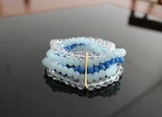 Bracelete cristal #lapetitasemijoias