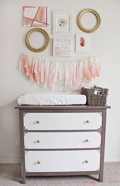 Relookez une commode Hemnes en un superbe meuble de chambre d'enfant.