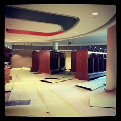 Hurricanes Locker Room MiamiHurricanes LockerRoom SchwartzCenter Football Kamisco