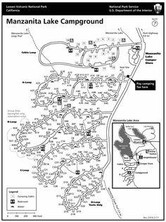 Manzanita Lake Campground - Lassen Volcanic National Park (U.S. National Park Service)