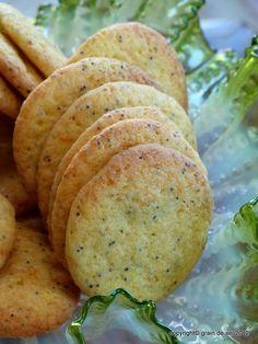 grain de sel - salzkorn: Orangen-Mohn-Cookies