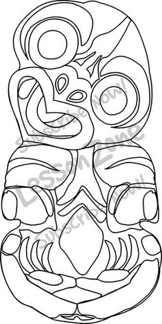Maori Printables: Maori Numbers Colouring Pages Index