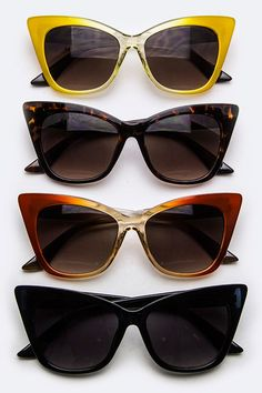 Oversized Cateye Sunglasses (  Colors)