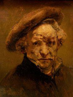 Rembrandt Self Portrait, Rembrandt Art, Francis Bacon, Pre Raphaelite, Romanticism, Renaissance, Sculpture, Abstract, Drawings