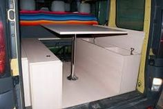 Related image Murphy Bunk Beds, Diy Camper, Campervan, Website, Van Life, Motorhome, Office Desk, Corner Desk, Camping