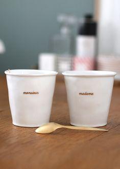 Sézane / Morgane Sézalory - Collection Lifestyle - Cup - Madame Monsieur - #sezane www.sezane.com