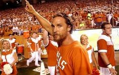 Because it would be an honor to join the lifelong network of proud Texas alumni, including this guy! #WhyTexas