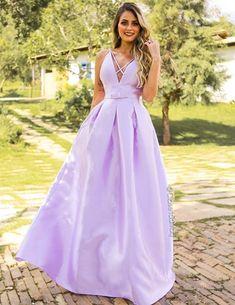 10 vestidos lavanda