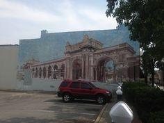 The Short North Arts District: mural: HOOT 2013