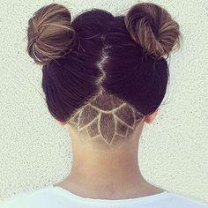 HOT. CREDITS: @efoxxhair @playwithscissors #undercut #undershave #haircut…
