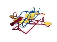 Lifetime Ace Flyer Airplane Teeter Totter (Primary Colors) Why settle for a normal teeter totter when your kids can enjoy the high-flying thrills of the Outdoor Toys For Kids, Outdoor Play, Outdoor Ideas, Pogo Stick, Best Kids Toys, Children Toys, Play Gym, Buy Toys, Seesaw