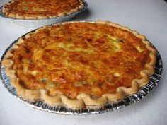 The best ever quiche recipe! No joke. Better than any restaurant, freezes well, easy to adjust fillings to your taste.