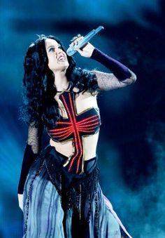 Performing Dark Horse in 2014 Grammy Awards