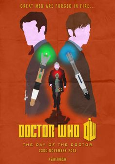 doctor who Poster   Doctor Who: 50th Anniversary - Minimalist Poster by Stormy94 on ...