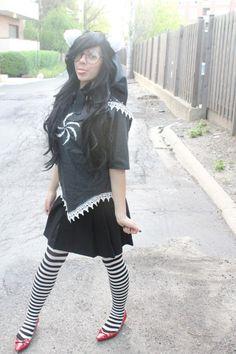 Jade Harley cosplay -- homestuck