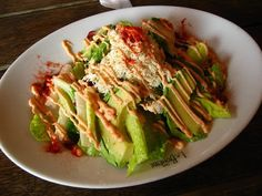 Avocado and Crab Meat Salad