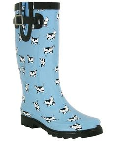 Cow Rain Boots found at Simply Bovine | My Style | Pinterest ...