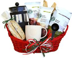 Heritage House Florist Starbucks® Italian Basket Downers Grove, IL, 60515 FTD Florist Flower and Gift Delivery Starbucks Gift Baskets, Coffee Gift Baskets, Diy Gift Baskets, Raffle Baskets, Fundraiser Baskets, Decorative Baskets, Holiday Baskets, Homemade Gifts, Diy Gifts