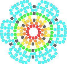Jewelry - Her Crochet Seed Bead Crafts, Beaded Crafts, Beaded Ornaments, Beaded Flowers Patterns, Beading Patterns, Beaded Earrings Native, Peyote Stitch Patterns, Beading Techniques, Peyote Beading