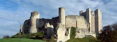 One of the best preserved Norman keeps in the world, go for a visit...    Google Image Result for http://www.english-heritage.org.uk/content/properties/conisbrough-castle/230985/Conisbrough-K011354.jpg