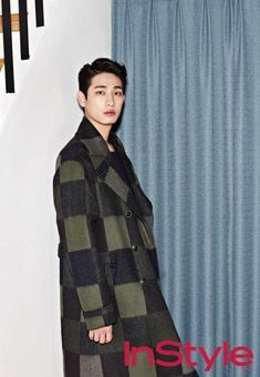 Yoon Park was giving another meaning to high fashion for his recent 'InStyle' pictorial, looking ever the gentleman with his stylishly geled hair and … Cute Asian Guys, Asian Boys, Asian Men, Park Pictures, Park Photos, Asian Actors, Korean Actors, Korean Fashion Men, High Fashion