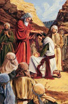 Moses and Joshua