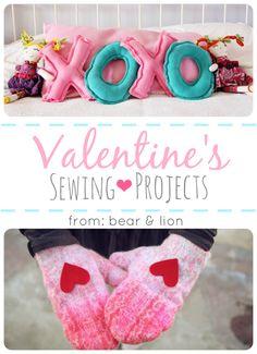 valentine's day sewing crafts!