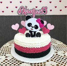 Panda Cupcakes, Panda Themed Party, Panda Party, Panda Birthday Cake, Birthday Cake Girls, Torta Baby Shower, Bolo Panda, Panda Baby Showers, Paper Cake